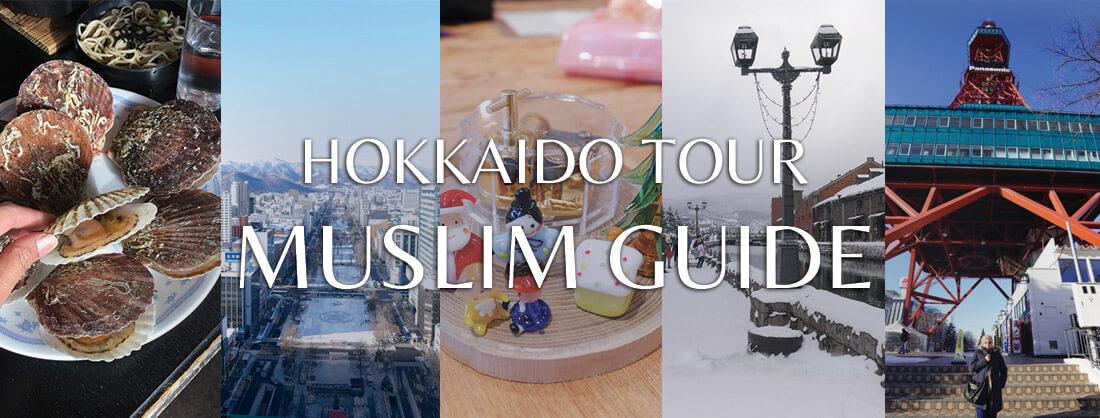 HOKKAIDO TOUR MUSLIM GUIDE